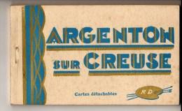 Carnet Complet De 12 Cartes ARGENTON SUR CREUSE - Bon état - Zonder Classificatie