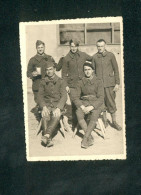 Photo Originale - Prisonniers De Guerre Stalag XX B - Marienburg Danzig ( Henri Leroy Avril 1941) - War 1939-45