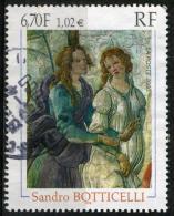"""FRANCE 3301° 6f70 (1,02€) Multicolore Botticell  """"Vénus Et Les Grâces Offrant Des Présents à Un (10% De La Cote + 0,15€) - France"""