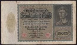Reichsbanknote Während Der Inflationszeit V.19-1- 1922 -NR W . 0771677 - [ 3] 1918-1933 : Weimar Republic