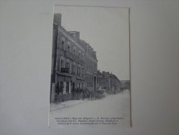 CPA 53 MAYENNE MODERN HOTEL VOITURE ANCIENNE - Mayenne