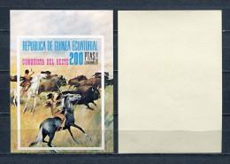 EQUATORIAL GUINEA * 1974 * Mi #  Block 127 * ANIMALS * IMPERF * MNH - Guinée Equatoriale