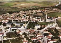 L'ile D'Elle - Vue Aérienne - Le Centre Du Bourg - Autres Communes