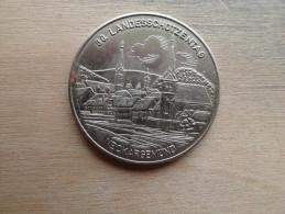 Medaille Allemande  200 Ans 1781 1981  Neckargemond - Professionnels/De Société