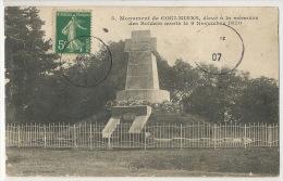 5 Coulmiers Monument Elevé A La Memoire Des Soldats Morts Le 9/11/1870 Guerre CFM - Coulmiers