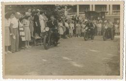 Mirebeau Carte Photo Course Moto Val De Tille 1947 - Mirebeau