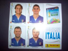 BRASIL 2014 PANINI - AGGIORNAMENTO FIGURINE/STICKERS NAZIONALE ITALIANA/ITALY  - - Edizione Italiana