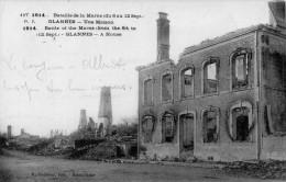 Cpa 1914 GLANNES, Marne, Maisons Après La Bataille  Du 6 Au 12/9/1914    (39.56) - France