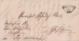 Württemberg Brief Fächerstempel Heilbronn 30.11.1870 - Wuerttemberg