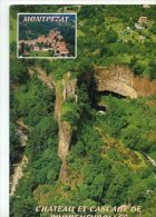 CP07209 - MONPEZAT - Chateau Et Cascade De Pourcheyrolles - Autres Communes