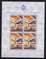 San Marino: Mi Block 829, MNH/**  1965 - Blokken & Velletjes
