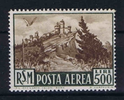 San Marino: Mi 460  Sa. 97  MNH/** 1951 Airmail - Luchtpost