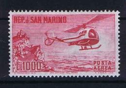 San Marino: Mi 696  Sa. 138  MNH/** 1961 Airmail - Luchtpost