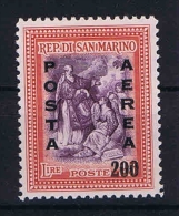 San Marino: Mi 403  Sa. 76  MNH/** 1948 Airmail - Luchtpost