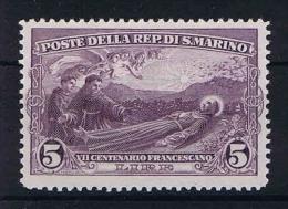 San Marino: Mi 144   Sa. 137  MH/* 1928 - San Marino
