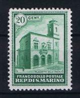 San Marino: Mi 175   Sa. 159  MH/* 1932 - San Marino