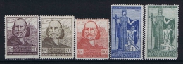 San Marino: Mi 100 - 104  Sa. 98 - 1-2  MH/* 1924 - San Marino