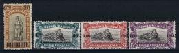 San Marino: Mi 105 - 108  Sa. 103 - 106  MH/* 1924 - San Marino