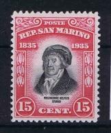 San Marino: Mi  218 Sa.  196  MH/* 1935 - San Marino