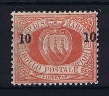 San Marino: Mi  11 Sa.11 MH/* 1892, Signed/ Signé/signiert/ Approvato - San Marino