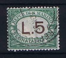 San Marino: Segnatasse Mi  17 Sa.17 Used - Strafport