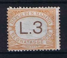 San Marino: Segnatasse Mi  25 Sa.25  MH/* 1925 - Strafport