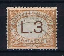 San Marino: Segnatasse Mi  25 Sa.25  Used 1925 - Strafport