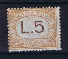 San Marino: Segnatasse Mi  26 Sa.26  MH/* 1925 - Strafport