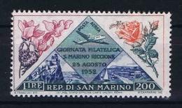 San Marino:  Mi  490, Sa. 108    MNH/**  1952 - Luchtpost