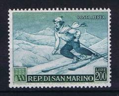 San Marino:  Mi  501, Sa. 78    MNH/**  1953 - Luchtpost