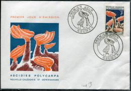 NOUVELLE CALÉDONIE - N° 322 ( CORAIL ) / FDC DE NOUMÉA LE 24/2/1964 - SUP - FDC