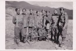 MILITARI  ( Con Rullo Stendicavo)  /  Regio Esercito _  Foto  Formato Cm 9 X 6 - Guerre, Militaire