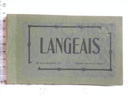 CPA (37) Indre Et Loire - LANGEAIS - Carnet De 20 Vues Détachables - Langeais
