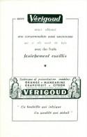 Reclame Uit Oud Magazine Of The 60s - Vérigoud - La Bouteille Qui Intrigue - Pubblicitari