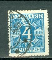 Danmark 1921/27 Yv 10 Used / Obl / Gebr - Cote € 4,00 - Port Dû (Taxe)