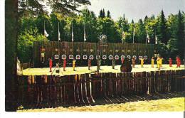 Camp Mariste, Lac Morgan, Rawdon, Quebec Sous La Direction Des Freres Maristes  Une Des Activies: Le Tir A L'Arc - Other