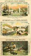 Paris 3 Images A Voltaire 3 Place De La République Vêtements 7x12 Cm - Sonstige