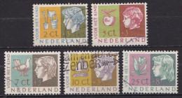 1953 Kinderzegels Gestempelde Serie  NVPH 612 / 616 - 1949-1980 (Juliana)