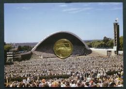 ESTLAND ESTONIA Estonie 1999 - 1 Kroon Special Coin Singing Festival Sängefest In Original Holder - Estonie
