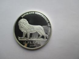 Republik CONGO 10 Francs 2004  WM 2006 - Congo (République Démocratique 1998)