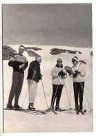 Italie - Sestriere - Photo Originale - Skieurs, Comtesse Rinaldi  - Format 14.8 X 10.5 Cm (ski) - Lieux