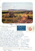 Ubirr, NT, Australia Postcard Posted 1995 Stamp - Uluru & The Olgas