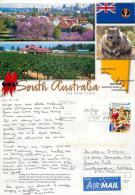 South Australia Postcard Posted 2012 Stamp - Australia