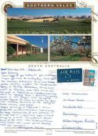 Southern Vales, South Australia Postcard Posted 1995 Stamp - Australia