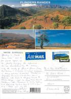 Flinders Ranges, South Australia Postcard Posted 2003 Stamp - Flinders Ranges