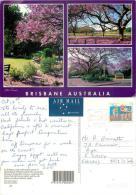 Brisbane, Queensland, Australia Postcard Posted 1996 Stamp #2 - Brisbane