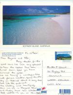 Rottnest Island, Western Australia Postcard Posted 2002 Stamp - Other