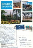 Rockhampton, Queensland, Australia Postcard Posted 1996 Stamp - Rockhampton