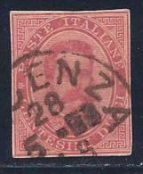 Italy,  Like Scott # 46 Used Humbert L Post Card Cut Square, 1883 Or 1893 Cancel? - 1878-00 Umberto I