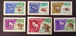 Romania 1966 Sc 1887/1892 Mi 2553/2558 Yt 2267/2272 Mnh** - 1948-.... Republics